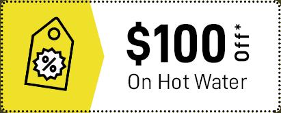 100 $ Off